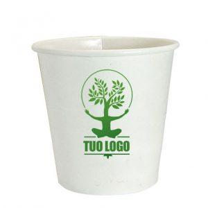 bicchierini caffè compostabili personalizzati