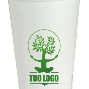 Bicchieri cartoncino compostabili personalizzati