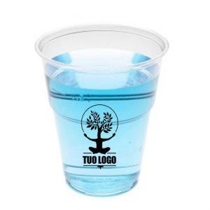 Bicchieri Birra Compostabili Personalizzati - tacca 300