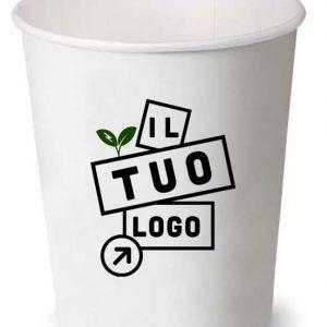 bicchiere in carta personalizzato per distributori dispenser