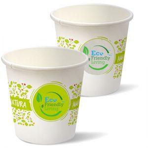 bicchierini da caffé biodegradabili personalizzati